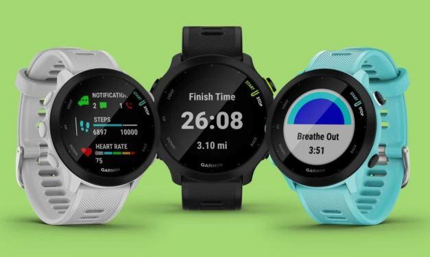 Garmin Forerunner 55, une montre d'entrée de gamme au rapport qualité-prix excellent.