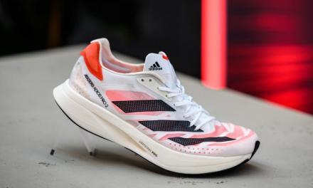 Adidas Adizero Adios Pro2, une chaussure pour battre des records du monde sur route.