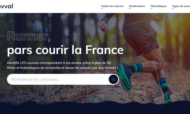 Kavval, Pars courir la France avec ce moteur de recherche dédié au running.