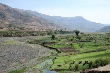 Run Africa Ethiopia hiking Shoa farming
