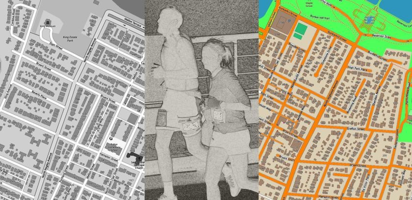 Runners Mapping City