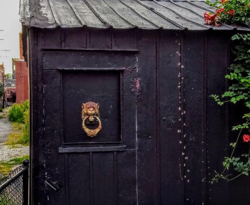 shed door knocker