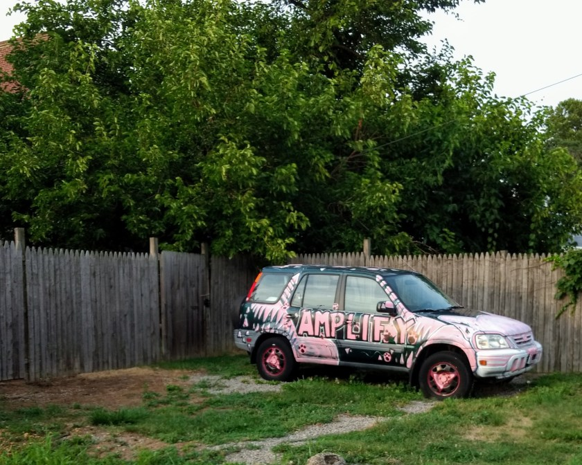 """SUV Painted with """"Amplify"""""""