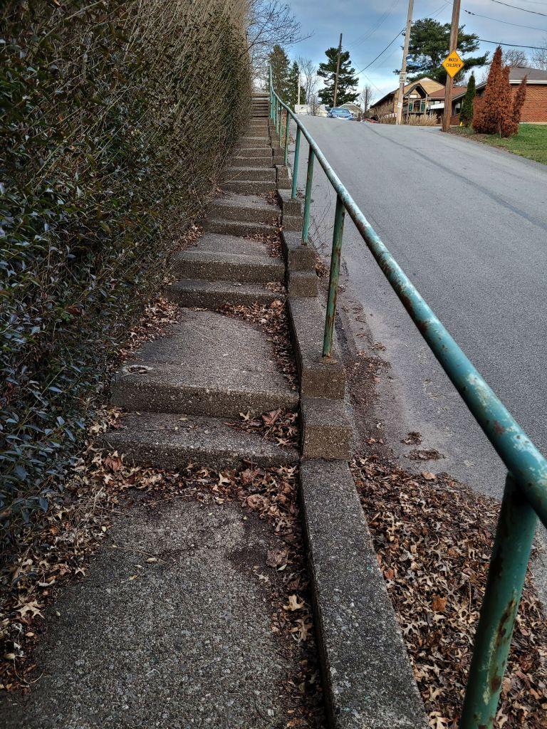 Glade Street Steps