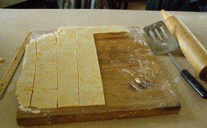 making crackers