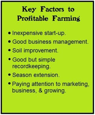 key factors to profitable farming