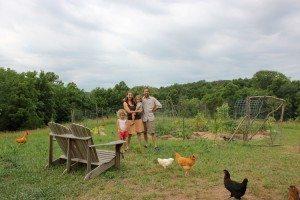raising a family while establishing a new farm presernts challenges