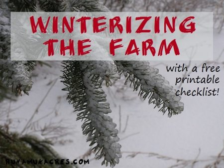 how to winterize your farm