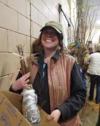 me at fedco tree sale
