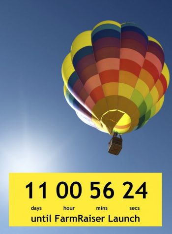 farmraiser launch countdown