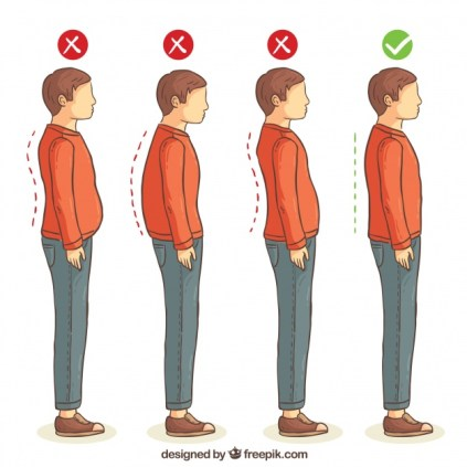 series-of-correct-and-incorrect-postures-for-the-back_23-2147633306