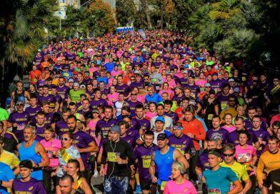 В Сочи впервые прошел марафон