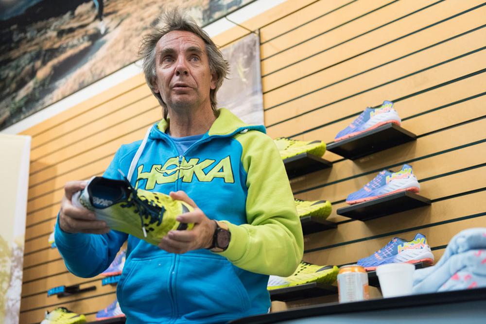 Жан-Люк Диар рассказывает про кроссовки HOKA ONE ONE
