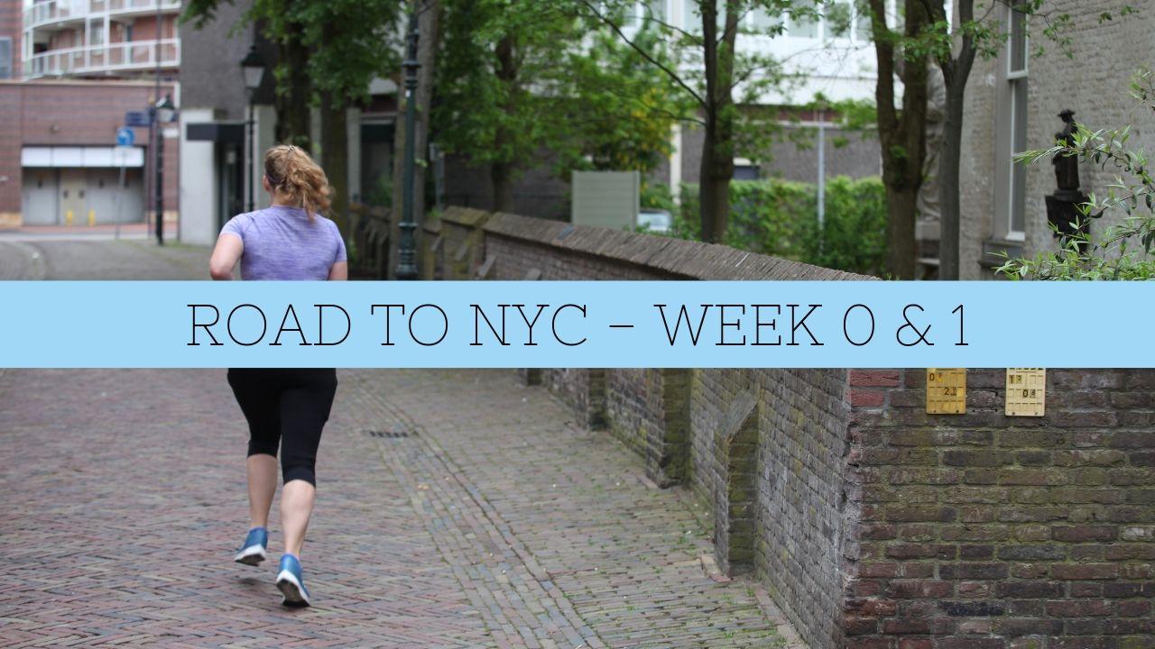 DE ALLEREERSTE TRAININGSWEEK! – ROAD TO NYC VLOG #1