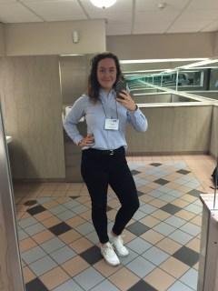 Conference selfie