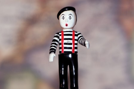 The Mime is a Butoh Dancer?