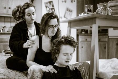 Ophélie, Beata & Meri