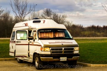 Boondocking in a Van