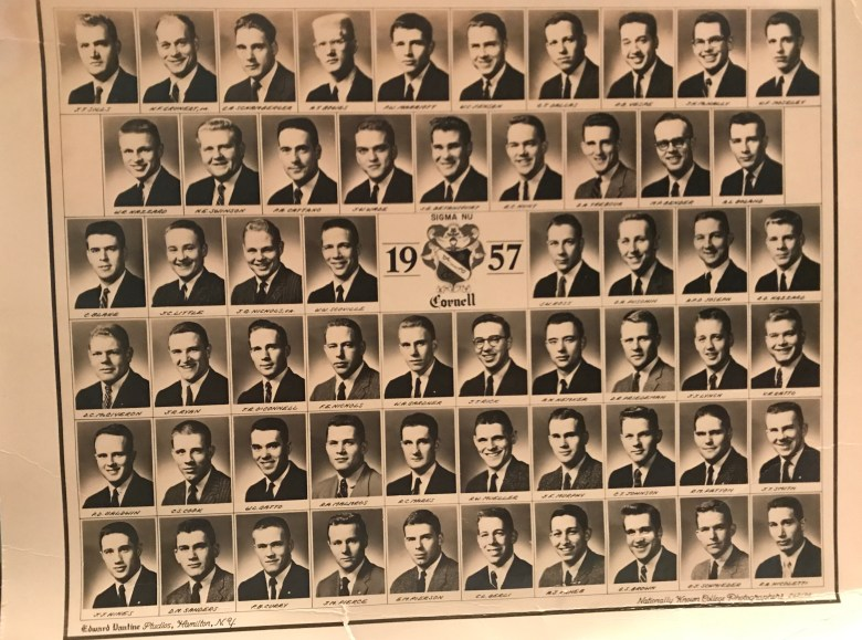 SIGMA NU 1957 Cornell University