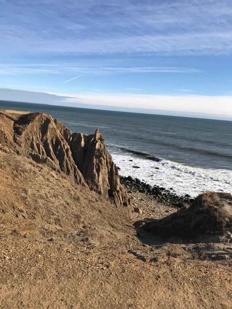 Montauk Hoodoos - erosion of cliffs