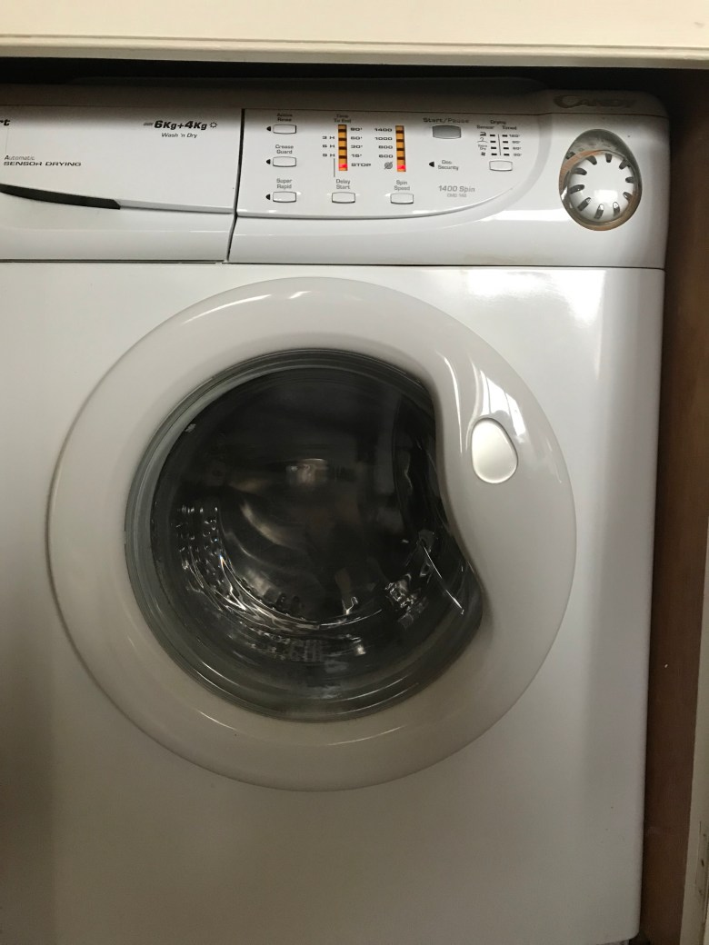 Washer dryer England cottage