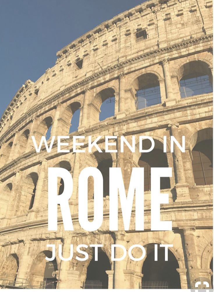 3 day weekend in Rome