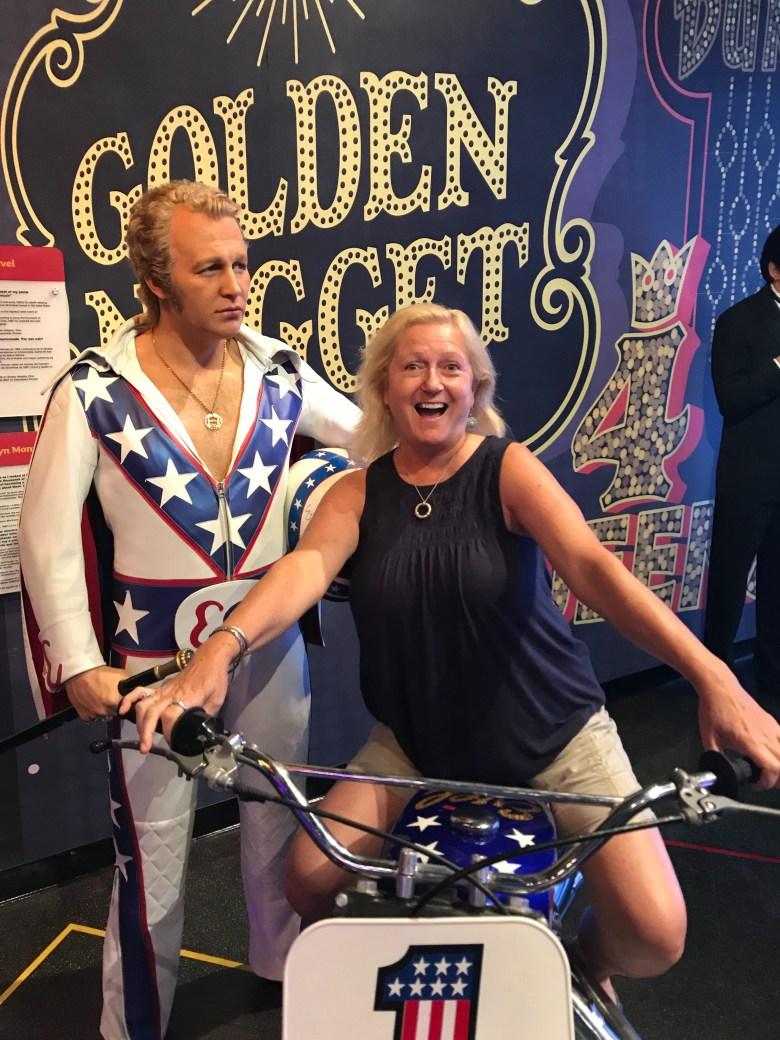 Evil Knievel Las Vegas Madame Tussaud's