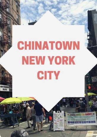 Chinatown New York City for lunch