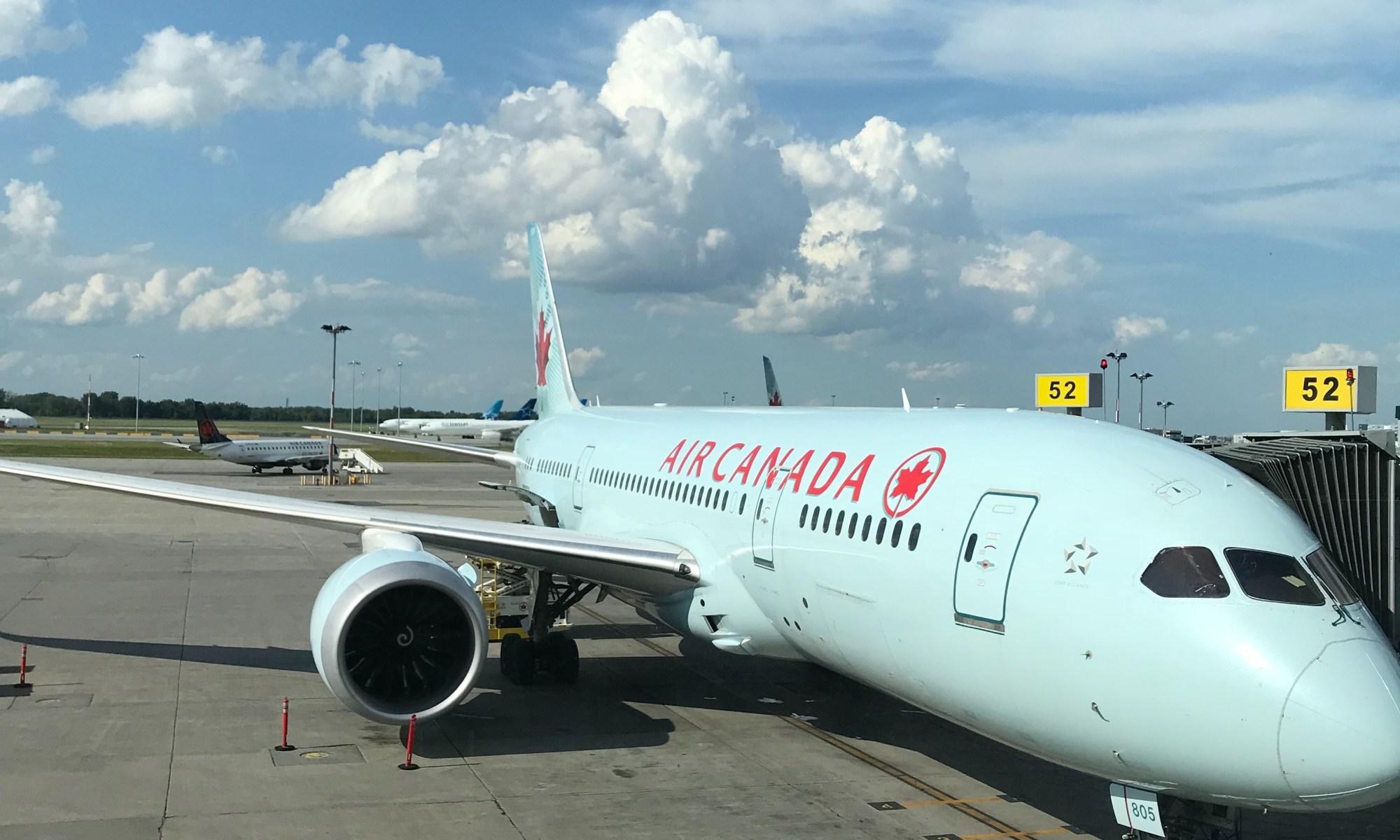 Air canada to Tokyo alleviate anxiety