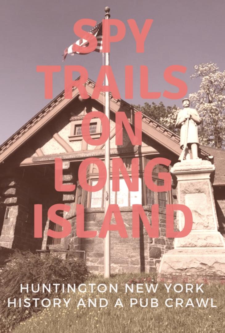 Spy trails on Long Island New York