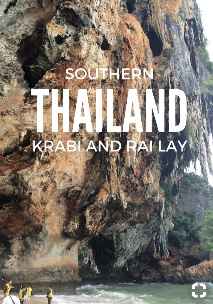 Solo female travel krabi and rai lay Thailand