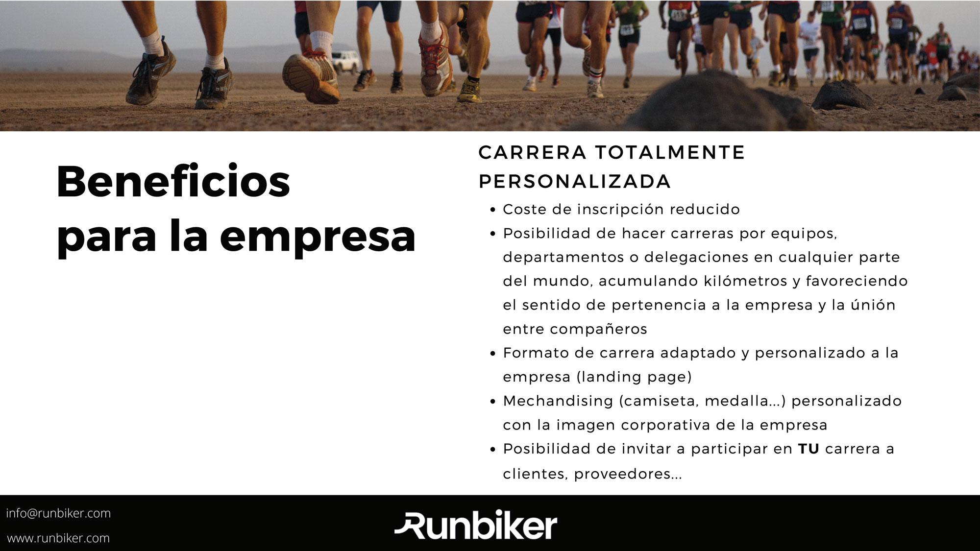 carreras virtuales para empresas