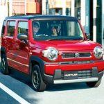 El concept de Suzuki Hustler es como el Jimny solo a la vista