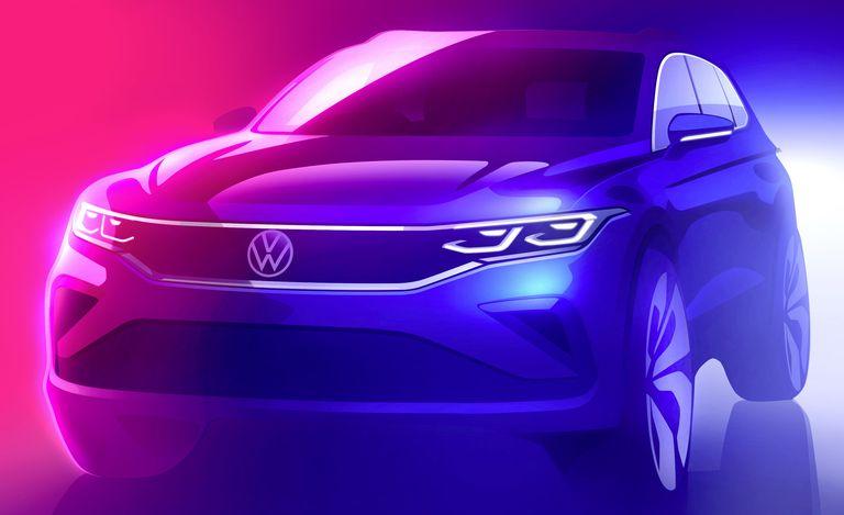 Volkswagen está preparando una actualización para su SUV Tiguan 2022