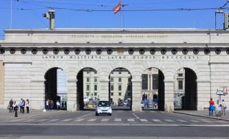 Vienna finishing arch