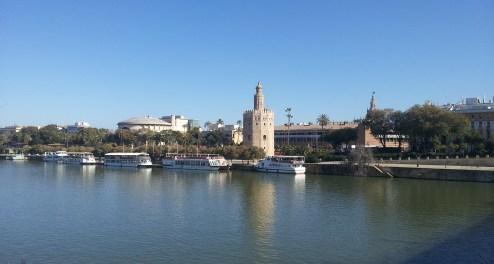 Seville across the river