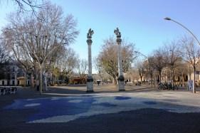 a sevillian plaza
