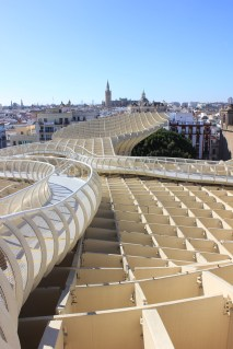 rooftop view of seville