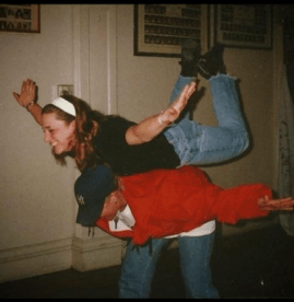 Modern dance class move '97