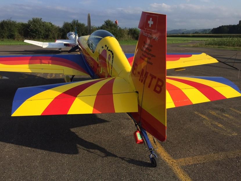 Die Extra 200 für Kunstflug