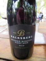 Backsberg Winery.