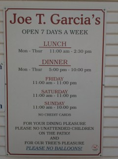 Joe T. Garcia's.
