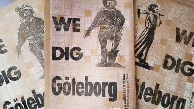"""Först ut på stan är """"We dig Göteborg"""""""