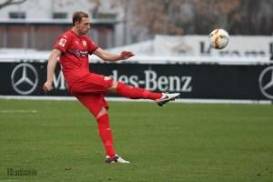 Georg Niedermeier ist unter Kramny gesetzt. Bild © VfB-exklusiv.de