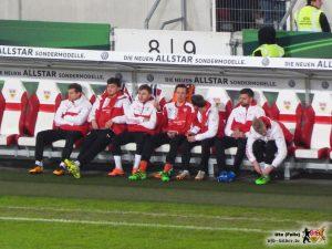 Kramny ließ unter anderem Tyton und Maxim auf der Bank. Bild © VfB-Bilder.de