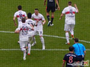 Gegen Bayern ein Tor schießen ist im Abstiegskampf nicht genug. © VfB-Bilder.de