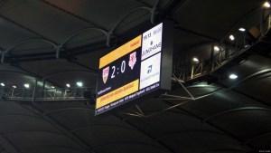 Letztendlich schaffte der VfB es erneut, die Null zu halten. Bild © Eric Späte