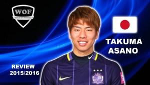 Takuma Asano. Foto: Youtube-Screenshot