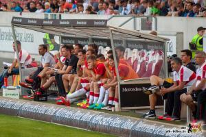 Jos Luhukay muss Schlüsse aus den letzten Spielen ziehen. Bild © VfB-Bilder.de