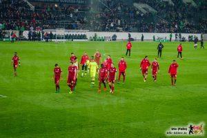 Kein Grund, lange die Köpfe hängen zu lassen! Bild © VfB-Bilder.de